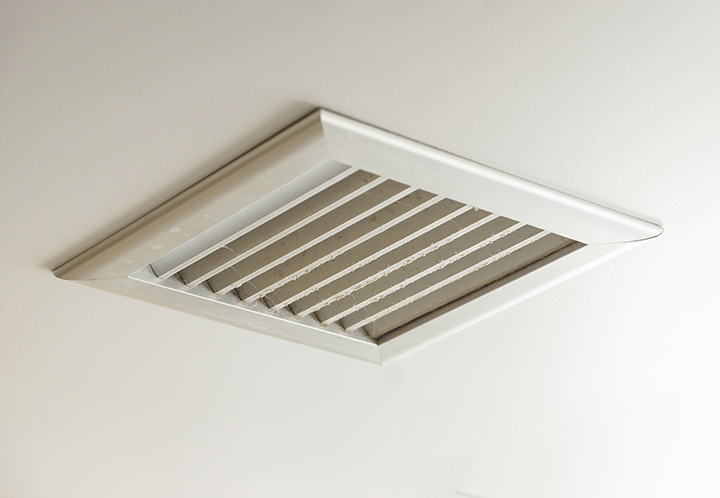Ventilation to prevent mold growth